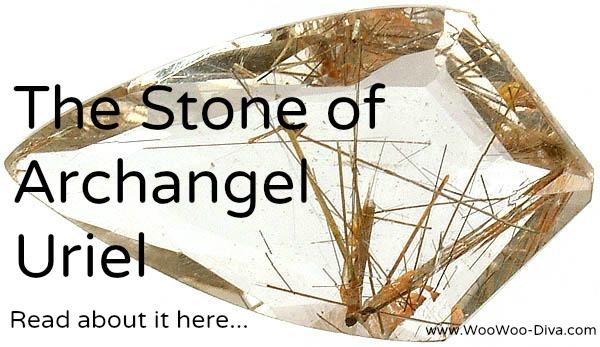 Archangel uriel rutilated quartz