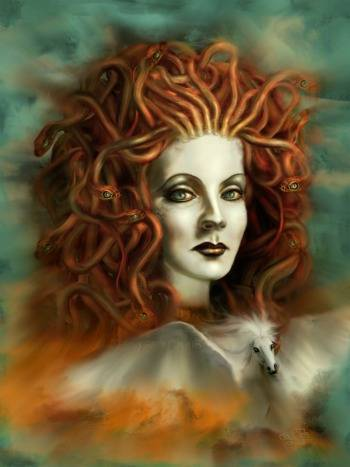 Medusa beautiful