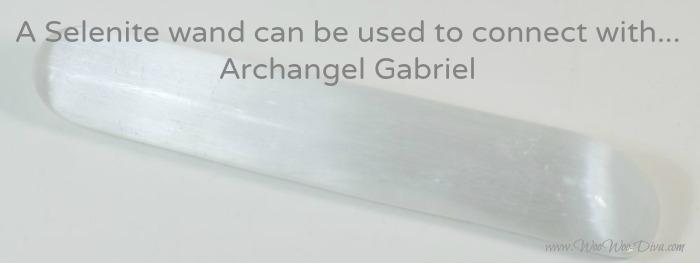 Selenite Arcgangel Gabriel