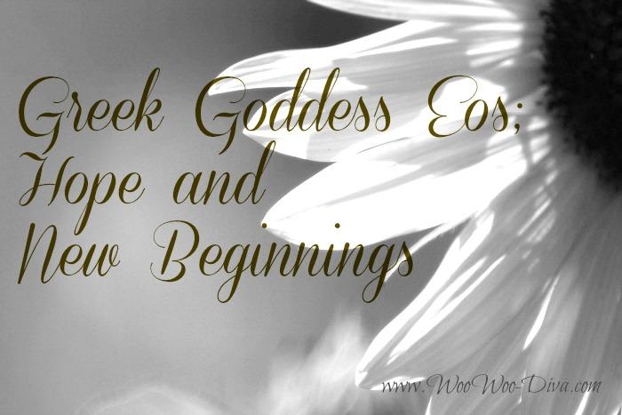 Greek Goddess Eos Hope and new Beginnings