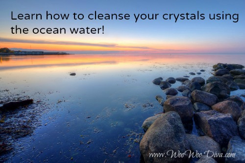 Ocean cleansing crystals